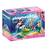 Playmobil 70100Magic Familia con Conchas Cochecito, Multicolor