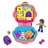 Mattel Polly Pocket-Mini Cofre Gatitos, muñeca con Accesorios, Juguete +4 años, Multicolor GFM52