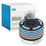 Bluetooth Shower Speaker by Johns Avenue. Waterproof - Wireless - Portable Speaker with Strong Suction Cup