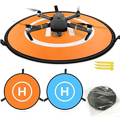 Sipobuy Universale Impermeabile Portatile Pieghevole Drone Landing Pad/Grembiule, Applicabile RC...