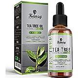 Kanzy Aceite Arbol del Te 60ml Natural Tea Tree Oil Perfecto Tratamiento para Cara, Cuerpo, Piel y...