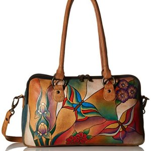 Anna by Anuschka Satchel Handbag   Genuine Leather 3