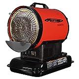 ProTemp PT-80-OFR Radiant Heating 80000 BTU for 2000 Square Feet , Black/Red