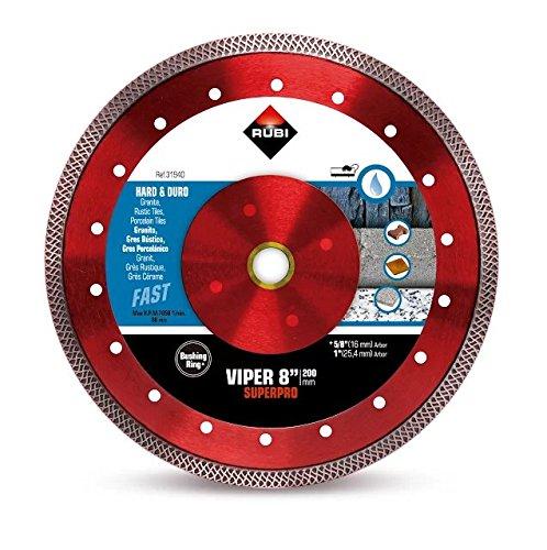 Rubi Tools Viper 8' Wet Diamond Blade USA Ref.31940