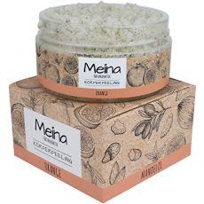 Meina Naturkosmetik - Körperpeeling mit Orange - Bio Gesichtspeeling und Lippenpeeling für Damen und Herren (1 x 280 g) Face, Lip, Body Scrub Peeling