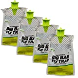 RESCUE! - Big Bag Disposable Fly Traps - Quantity 4