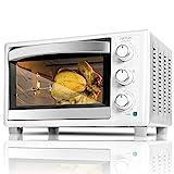 Cecotec Horno Conveccion Sobremesa Bake&Toast 690 Gyro. Capacidad de 30 litros, 1500 W, 5 Modos, Temperatura hasta 230C y Tiempo hasta 60 Minutos, Incluye Accesorio Rustidor con pinzas