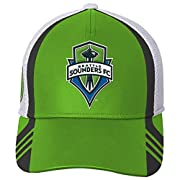 Officially licensed by MLS Small adidas logo No adjustable backing