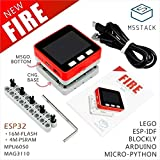 M5Stack NEW PSRAM 2.0! FIRE IoT Kit Dual Core ESP32 16M-FLash+4M-PSRAM Development Board MIC/BLE MPU6050+MAG3110 of Micropython (FIRE)