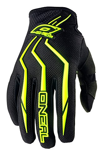 O'Neal Element Guanti per bambini MX MTB DH Motocross Enduro Offroad Quad BMX FR, nero, taglia S/3,...