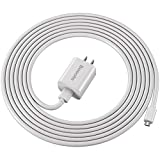 "Kindle Fire Charger,10W Fast Rapid Charger Adapter with 6.6FT Charging Cable Cord Compatible with Kindle Fire 7 HD 8 10 Tablet, Kids Edition,Kindle Fire HD HDX 7"" 8.9"", Fire Phone,Fire Stick (White)"