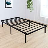 BedStory Twin Bed Frame, 14 Inch Single Metal Platform Bed Frame Twin, Easy Assembly Mattress Foundation, No Box Spring Needed, No Noise, Non-Slip Design - Twin Size