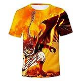 HOOMOLO Fairy Tail T-Shirt T-Shirt à Manches Courtes Original Premium pour Hommes de la...