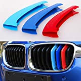 HELLO BAMBOO M-Colored Stripe Grille Insert Trims for BMW F30 2013-2018 3 Series /4 Series Kidney Grills