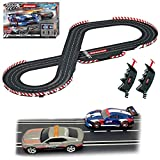 Carrera Evolution 20025236 Break Away Analog Electric 1:32 Scale Slot Car Racing Track Set - Includes Two 1:32 Scale Cars & Two Dual-Speed Controllers Ages 8+