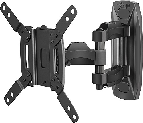 Rocketfish - Full-motion Tv Wall Mount For Most 19'-39' Lcd Tvs - Black (RF-HTVMMAB SKU:5171301)