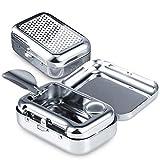 Cendrier de Poche Anti Odeur, JPYH Cendrier Portable, Cendrier Voiture,Mini...