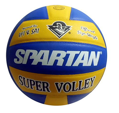 Spartan Super Volley Leather - Approved by VFI Volleyball - Size 4