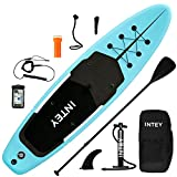 inty Stand Up Paddle Board Inflable, Paddle de PVC/EVA con Remo Ajustable, Bomba de Doble acción,...