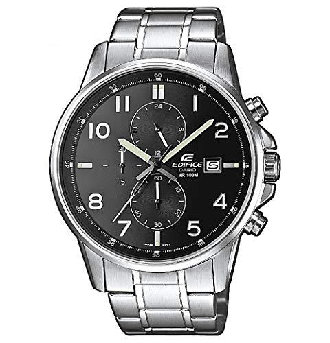 Casio Edifice Herren Massives Edelstahlgehäuse und Edelstahlarmband Uhrenarmband EFR-505D-1AVEF