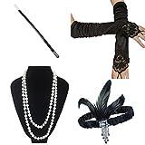 ResPai Année 20 Accessoire Charleston Accessories 1920 Costume pour Femme...