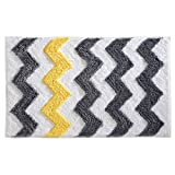 iDesign Chevron Bath Rug,...