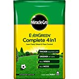 Miracle-Gro Evergreen Complete 4 in 1 Lawn Food - 360 m2, 12.6 kg, Lawn Food, Weed & Moss Control