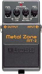 Boss MT-2 Metal Zone Distortion Guitar Pedal Review