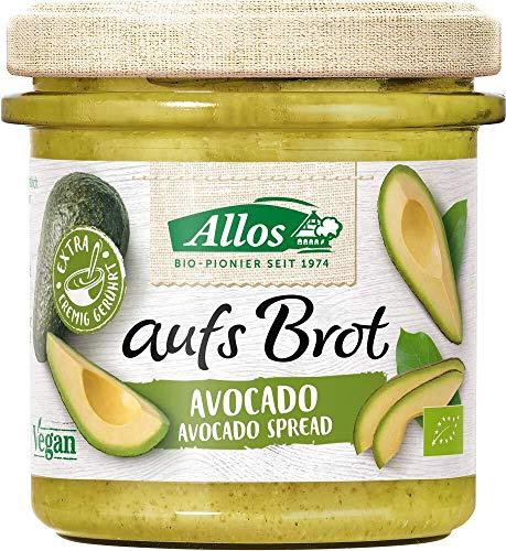 """Allos Streichcreme """"aufs Brot"""" mit Avocado (140 g) - Bio"""