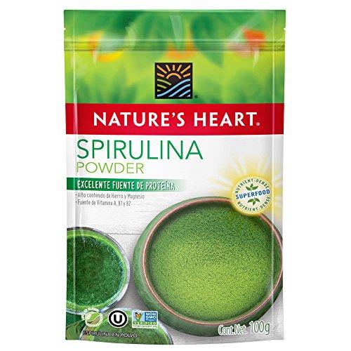 Nature's Heart Superfood Espirulina en Polvo, 100 g