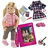 Our Generation BD31026ATZ Shannon Magic Under the Stars with Book, Socks, Outfit, Doll (23 Pieces)