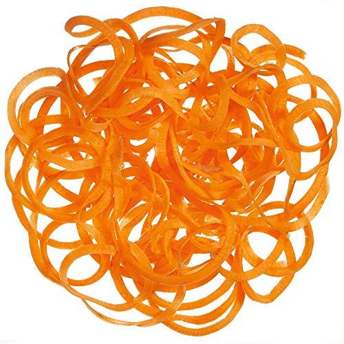 WMF Kult Pro Spiralschneider elektrisch, 5 Schneideeinsätze (Tagliatelle,Linguine,Spaghetti,Pappardelle,Tornados), 1 Extra-Aufsatz (Raspeln & Scheiben) (80W, für Obst-/ Gemüsenudeln) cromargan matt