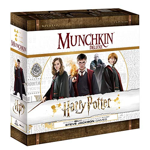 USAOPOLY Munchkin Deluxe Harry Potter Board Game | Officially Licensed Harry Potter Gift |...