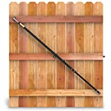 True Latch 10' Telescopic Gate Brace - Wood Privacy Fence Anti Sag Gate Kit - Extends from 64' to 120' - Gate Hardware Kit for Very Large Wooden Fence Gates, 1 Patented USA Made Brace
