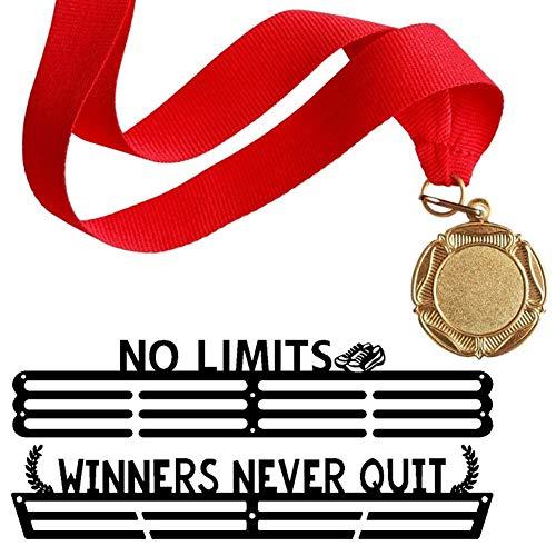 SinceY Desconocido Soporte de Medallas Deportivas para Corredores, Medallas, Expositor de Medallas, para Gimnasia Natación Baile Karate Artes Marciales