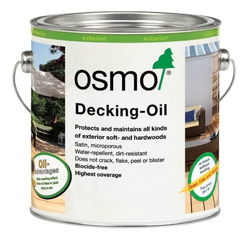 Osmo Decking Oil Clear - 2.5 Litre