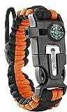 aZengear Bracelet de Paracorde et Survie pour Homme Femme - Militaire Kit avec...