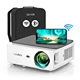 YABER V6 WiFi Bluetooth Projector 9000L Upgrade Full HD Native 1920×1080P Projector, 4P/4D...