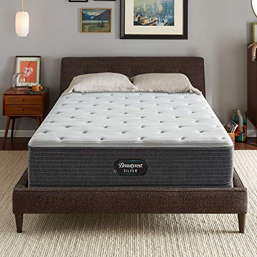Beautyrest Silver BRS900 12 inch Extra Firm Innerspring Mattress, Queen, Mattress Only