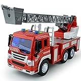 GizmoVine Jouet Camion Pompier à Incendie pour Enfants 3 Ans Voitures...