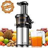 Aobosi Extracteur de Jus de Fruits et Légumes/Compact Extracteur...