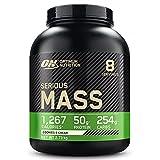 Optimum Nutrition Serious Mass, Mass Gainer avec Whey, Proteines Musculation...