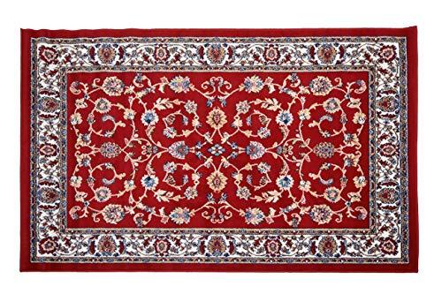 HomeLife Tappeto Persiano Orientale Moderno Parure 3 Pezzi | Tappeto Classico per Salotto/Camera da...