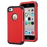Dailylux Coque iPhone 5c,5C Coque Housse de Protection Anti-Choc Matériaux...