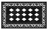 Evergreen Flag Fleur Scroll Sassafras Mat Tray - 30 x 1 x 18 Inches