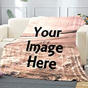 Memorial Customized Blanket:Upload your original photos or designed images, and we will turn it into your own personalized blanket! Get an image, your favorite masterpiece, a photo of your beloved pet, the funniest thing you've ever seen, the most me...
