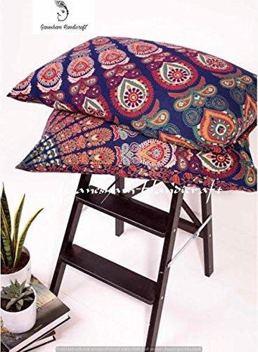 mandala indiano arazzo, in cotone, cuscino, federa designer inserto, hippie Bohemian indiano federa,...