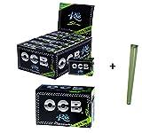 OCB Description Rolls avec Embouts de Filtre, 24 pièces (Carton) + Pochette de Joint.