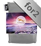 Silkrafox for 2 - Sac de Couchage Ultra-léger, idéal pour Les Couples, Le Compagnon idéal des randonnées,...