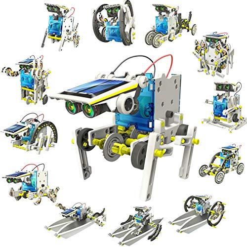DigHealth 13-in-1 Juguete Robot Solar, Kit de DIY Robots,...